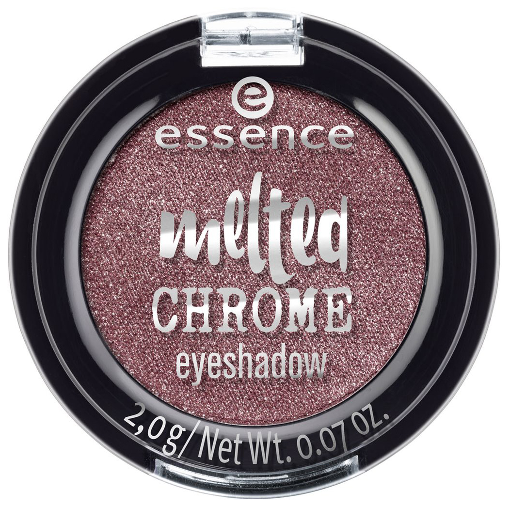 Тени для век Essence Melted Chrome Eyeshadow 01 Zinc about you