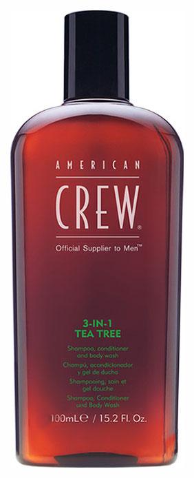 Купить Шампунь American Crew Tea Tree 3-in-1 100 мл