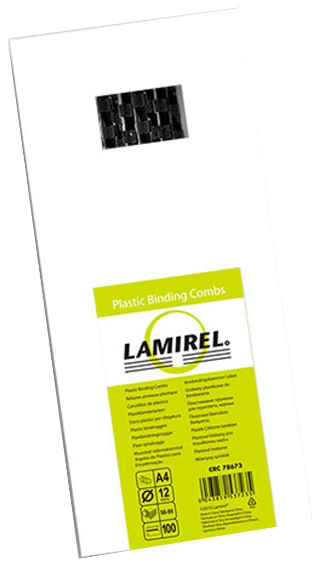 Пружина для переплета Lamirel CRC78673 Черный