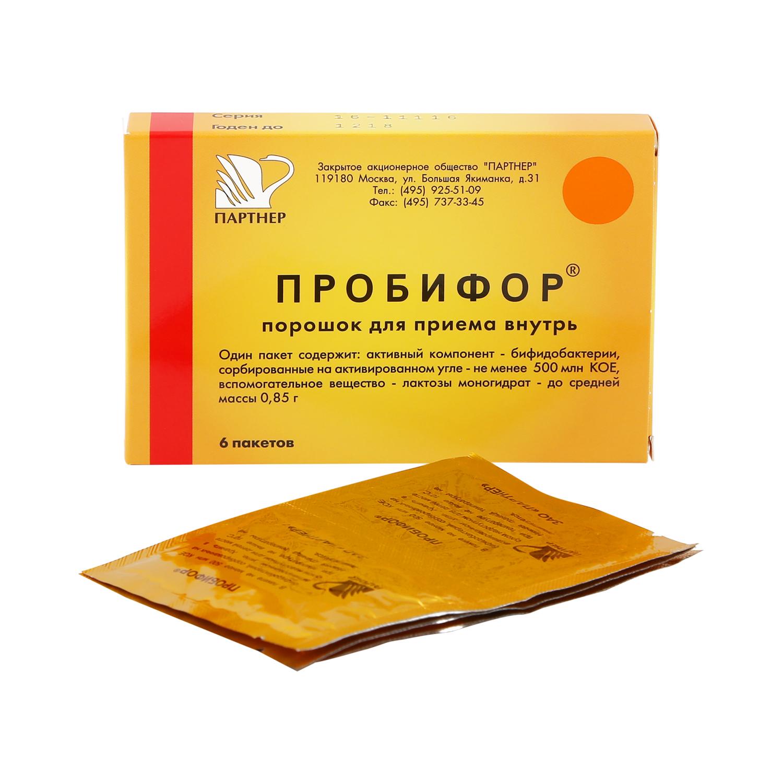 Пробифор порошок 850 мг 5 доз 6 шт.