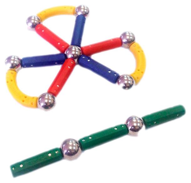 Конструктор магнитный Magneticus 21 элемент Цветок