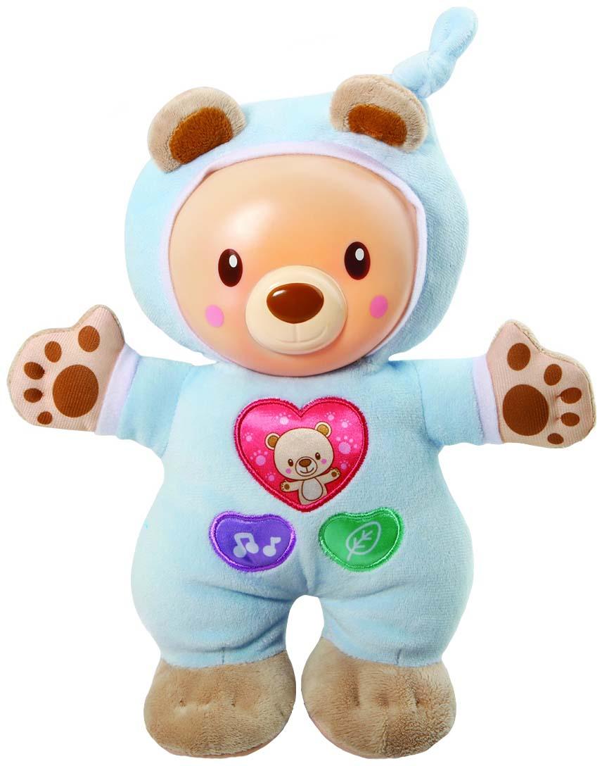 Купить Ночник детский VTech 80-502126 Мишка интерактивный для игр и сна,