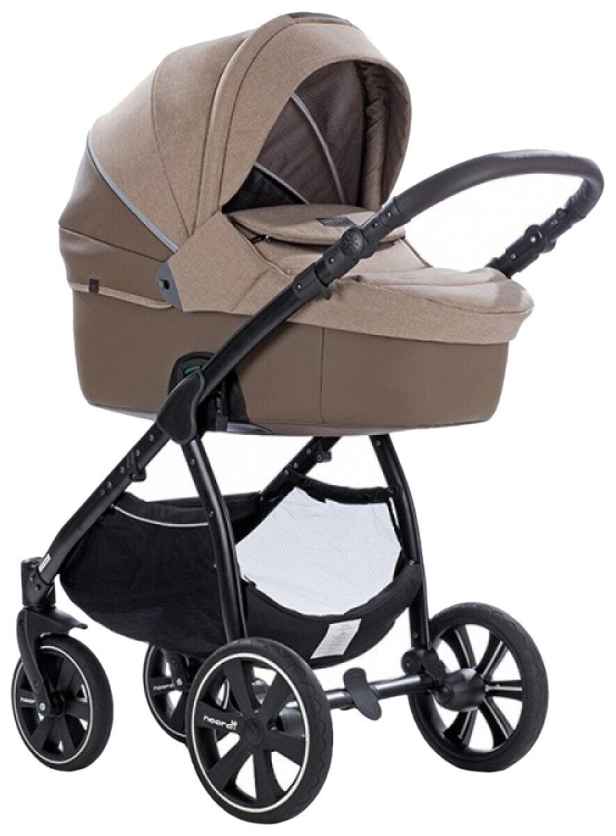 Купить Коляска детская 2 в 1 Noordi Fjordi Melange Sport Leather 662845/SP Коричневый,
