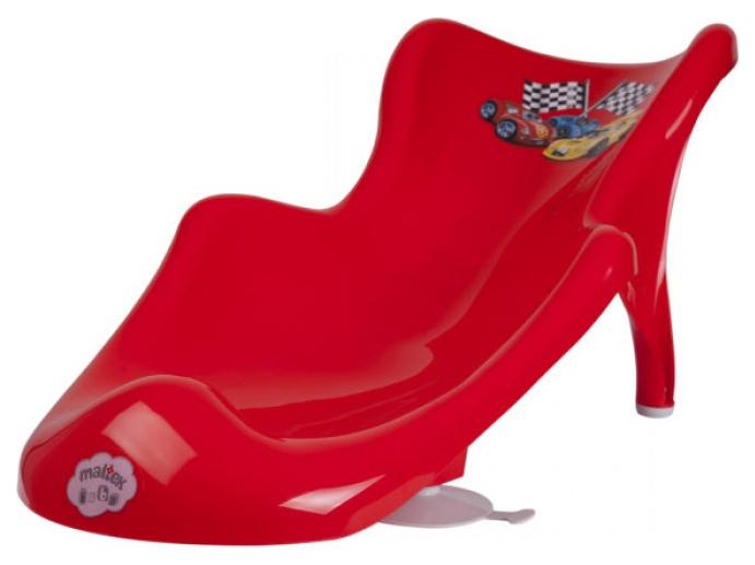 Горка для купания малыша Maltex Cars Красный