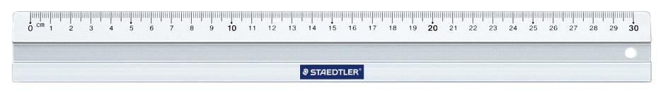 Линейка Staedtler ST56330 с канавкой 30 см
