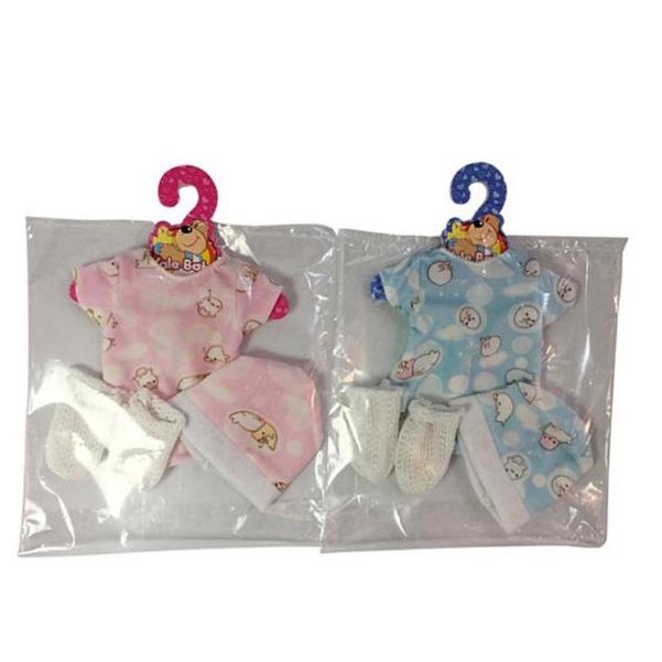 НАША ИГРУШКА Комплект одежды для куклы Малыш, 4 предмета YLC35P