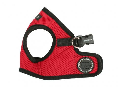 Шлейка для собак Puppia Soft Vest, красная, размер S