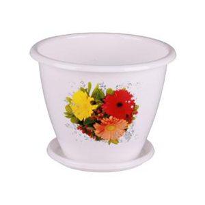 Горшок цветочный Альтернатива 14593 2 л
