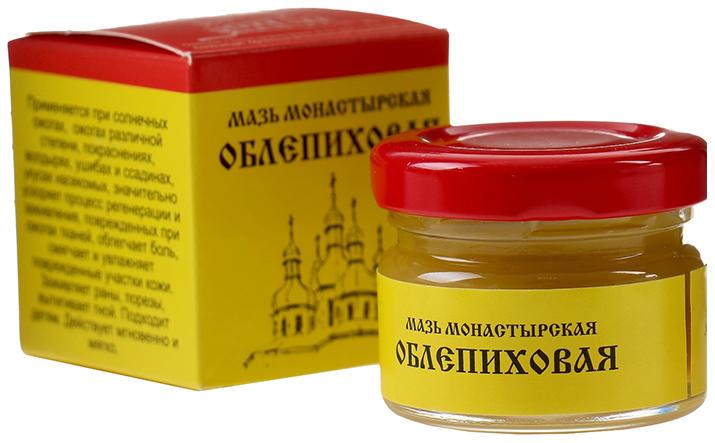 Мазь Монастырская Бизорюк Фабрика здоровья Облепиховая