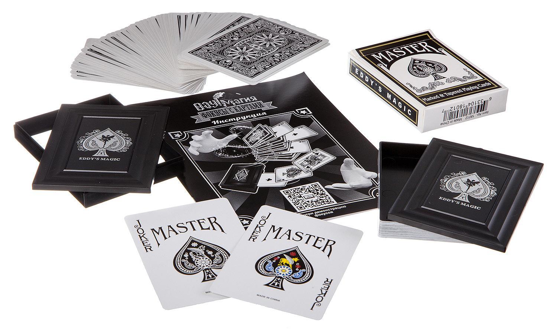 Купить Игровой набор Bondibon Bondibon Фокусы с картами - Вау! Магия - для фокусов, Наборы для фокусов