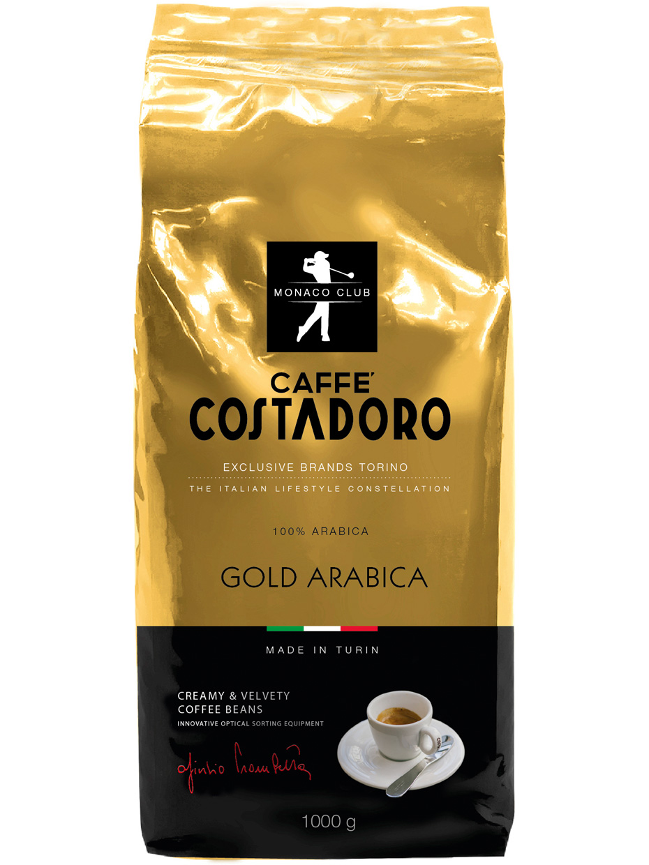 Кофе в зернах  Costadoro Gold Arabica 1000 г