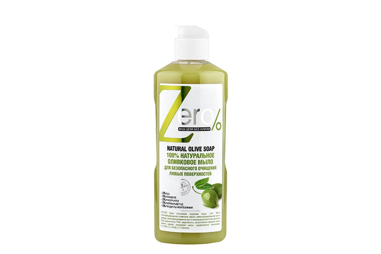 Мыло Zero для очищения оливковое для любых