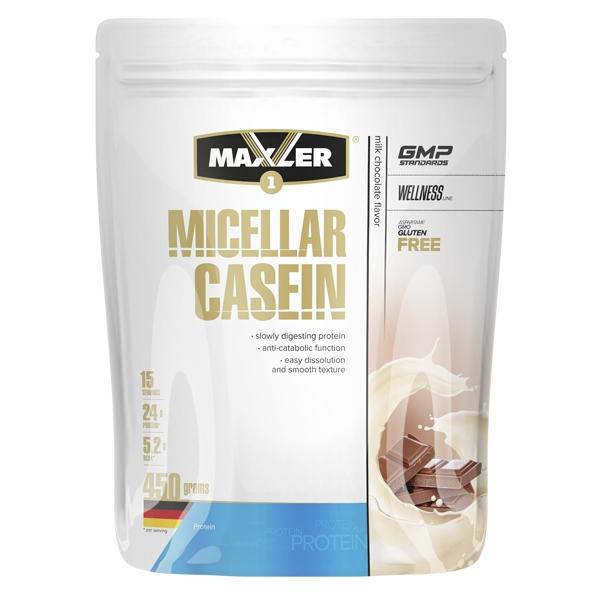 Протеин Maxler Micellar Casein 450 г Milk Chocolate фото