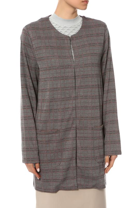 Пиджак женский Samoon серый 44