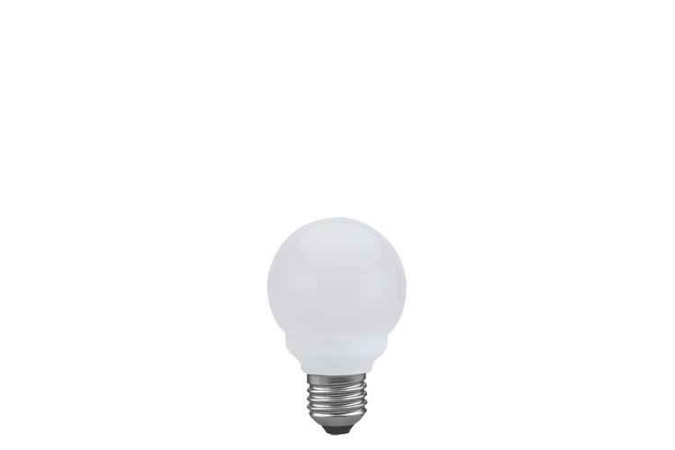 Лампа энергосбер. Mini Globe 60 11=60W E27 опал