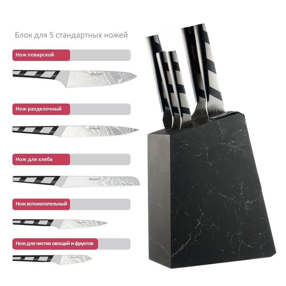 Подставка держатель для кухонных ножей Remihof