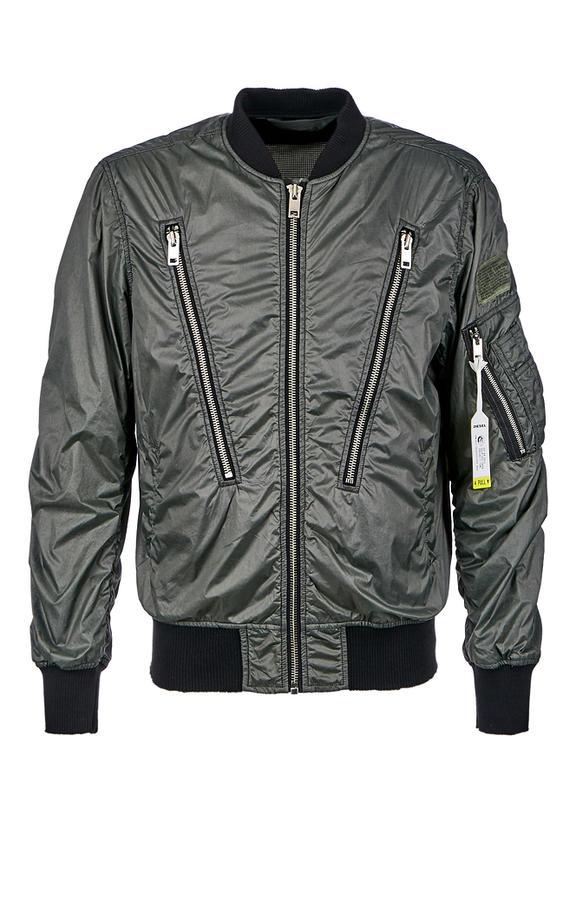 Куртка мужская DIESEL зеленая 54
