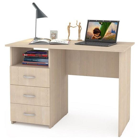 Компьютерный стол Mobi Комфорт 10 СК MOB_76626 110x57x76, венге магия
