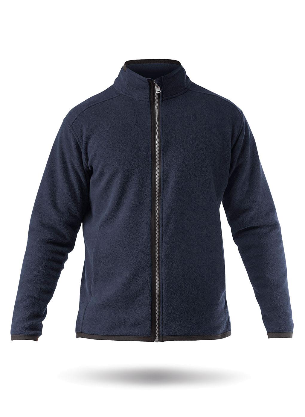 Толстовка ZHIK Zip Fleece Jacket, navy, XL INT