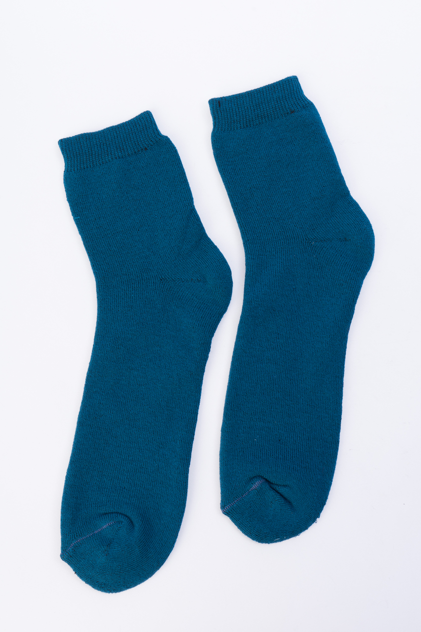Носки женские Мой размер Ж-027 бирюзовые 38