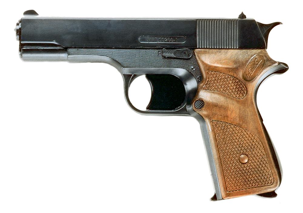 Купить ПистолетJaguarmatic 16, 5 см, короб, Edison Giocattoli, Игрушечные пистолеты