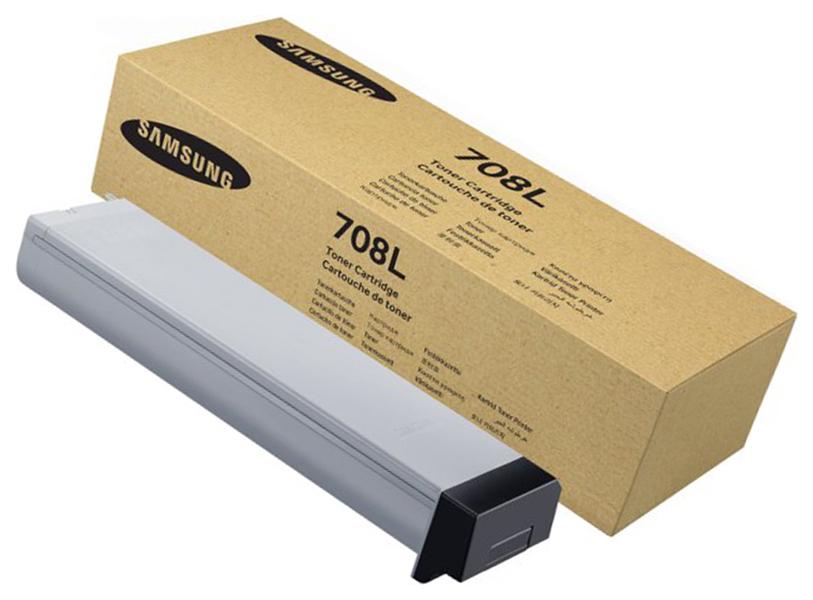 Картридж для лазерного принтера Samsung MLT-D708L, черный, оригинал