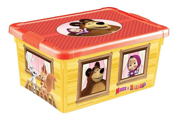 Ящик для хранения игрушек Маша и Медведь