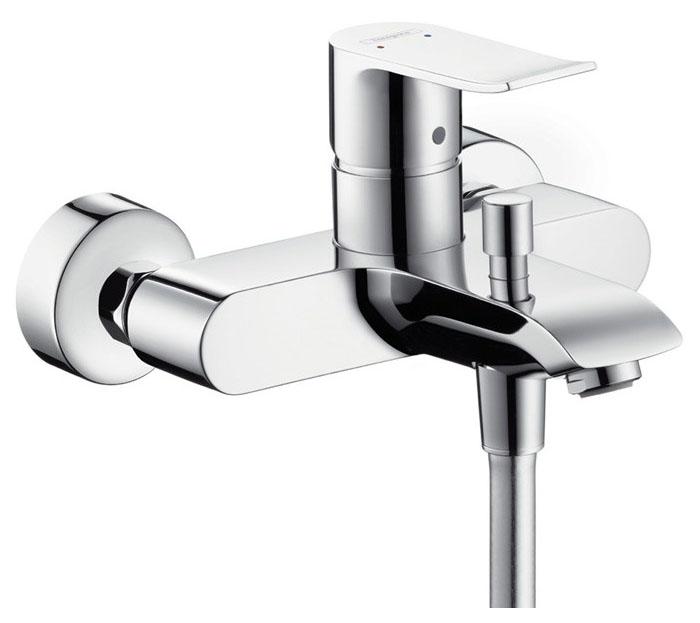 Смеситель для ванны Hansgrohe Metris 31480000 хром