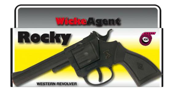 Купить Игрушечный пистолет Рокки 100-зарядный, Sohni-Wicke, Игрушечные пистолеты