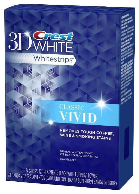 Пластина для отбеливания зубов Crest 3D White