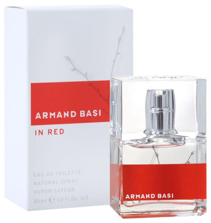 Купить Туалетная вода Armand Basi In Red, 30 мл