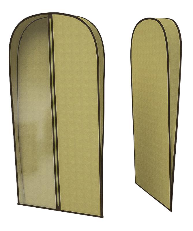 Чехол для одежды CoFreT Классик 10 х 60 х 130 см бежевый