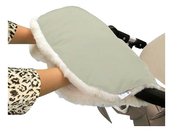 Купить На коляску Soft Fur Beige, Муфта для рук мамы на детскую коляску Esspero На коляску Soft Fur Beige, Муфты на коляску