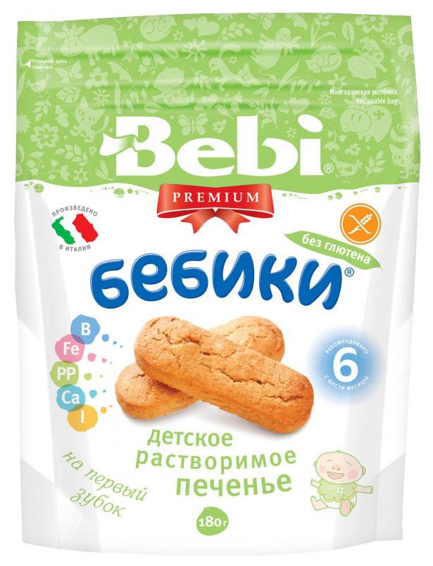 Печенье Bebi Premium Бебики без глютена 180 г фото