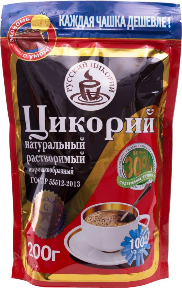Цикорий растворимый Русский цикорий порошкообразный 200 г