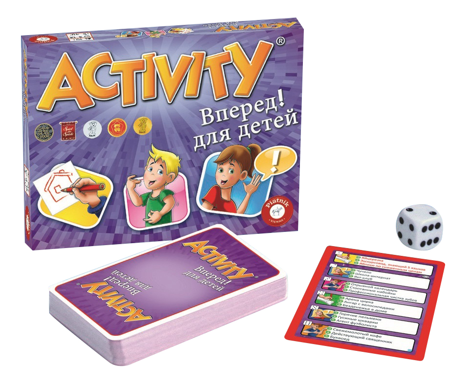 Купить Семейная настольная игра Piatnik Activity вперед,