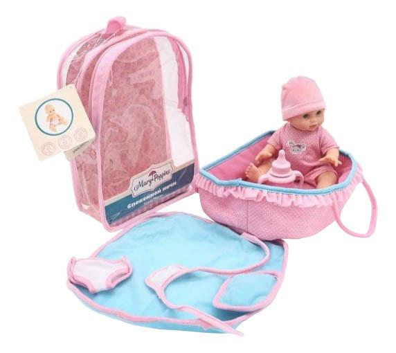Купить Классическая кукла 451190, Кукла Mary Poppins Милли в люльке 20 см 451190, Классические куклы