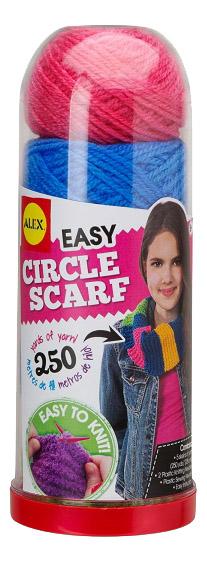 Набор для плетения ALEX Круговой шарф фото