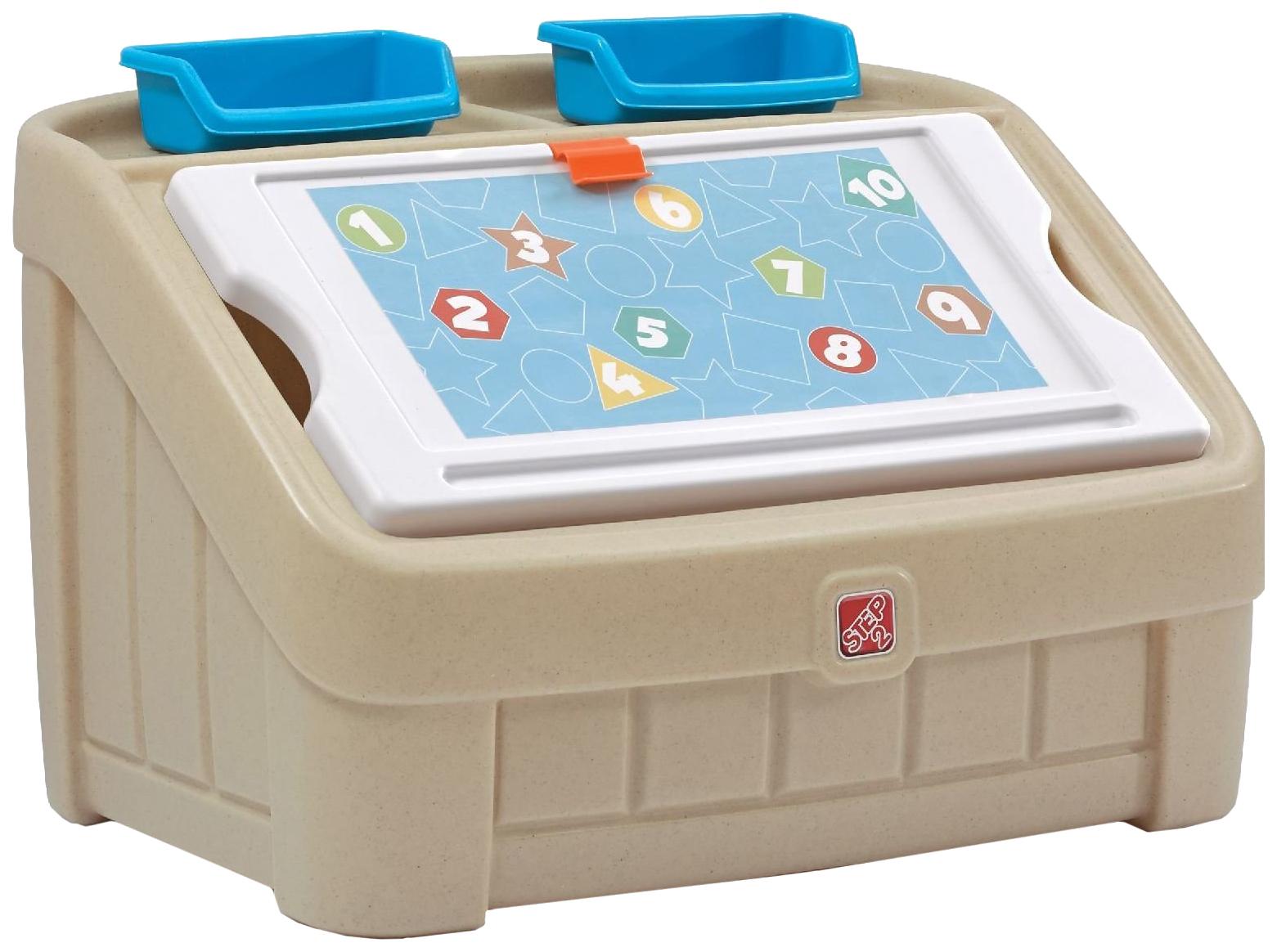 Купить Ящик для хранения игрушек Step 2 Два в одном 845500, Ящики для хранения игрушек
