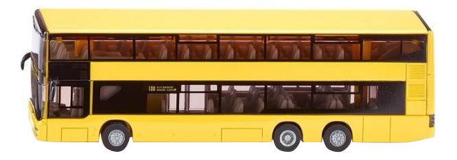 Игрушечный городской двухэтажный автобус Siku Man 1884 фото