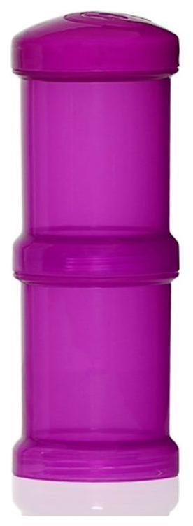 Контейнер Twistshake для сухой смеси 100 мл фиолетовый 2 штуки