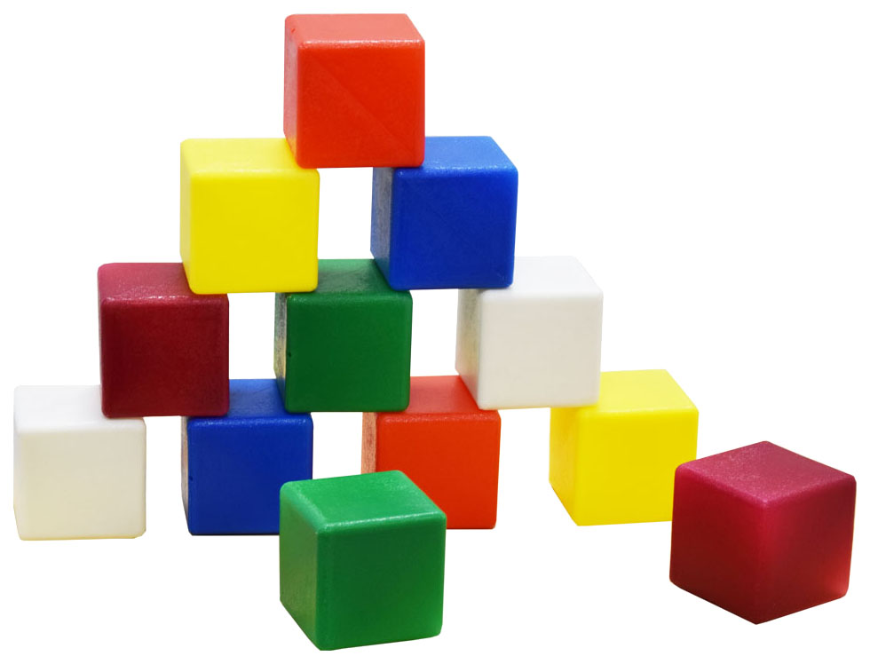Игрушка пластмассовая Набор кубики большие МИШКА-КОСТРОМА фото