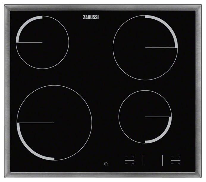 Встраиваемая варочная панель электрическая Zanussi ZEV56340XB Black