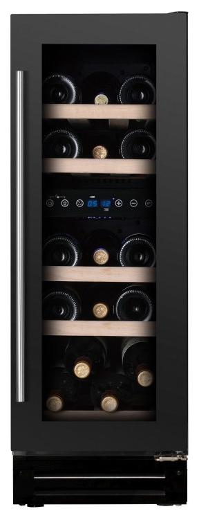 Встраиваемый винный шкаф Dunavox DX 17.58DBK/DP