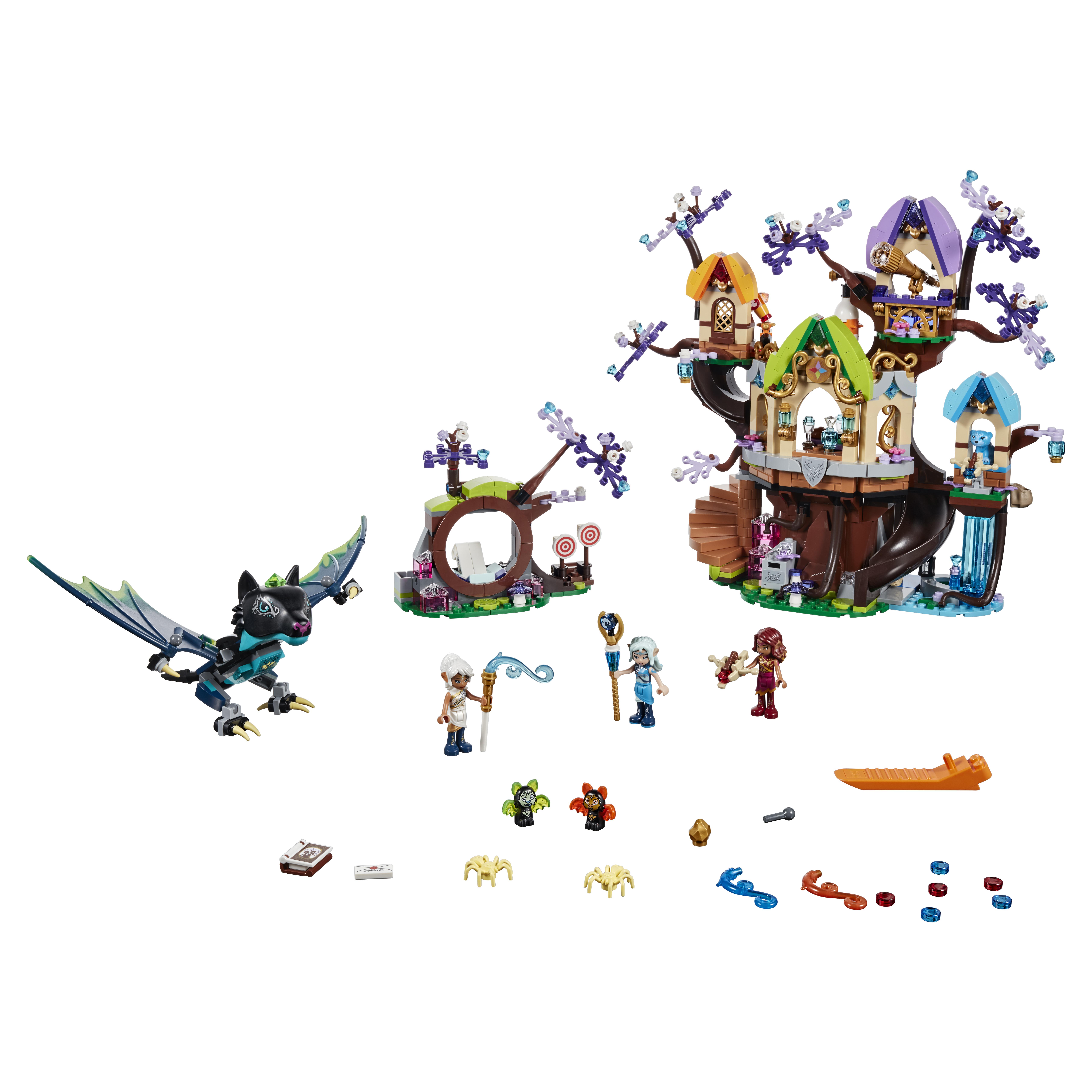 Конструктор LEGO Elves Нападение летучих мышей на Дерево эльфийских звёзд 41196 LEGO конструктор lego elves нападение летучих мышей на дерево эльфийс
