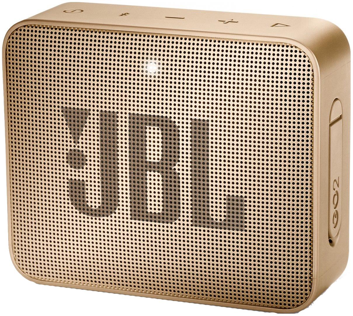 Беспроводная акустика JBL Go 2 JBLGO2CHAMPAGNE