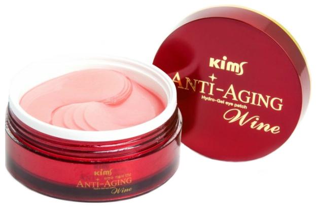 Купить Патчи для глаз Kims Anti-Aging Wine Hydro-Gel Eye Patch 60 шт