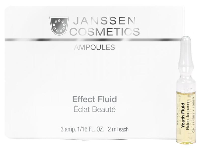 Ампулы осветляющие Janssen Cosmeceutical Мela Fadin,