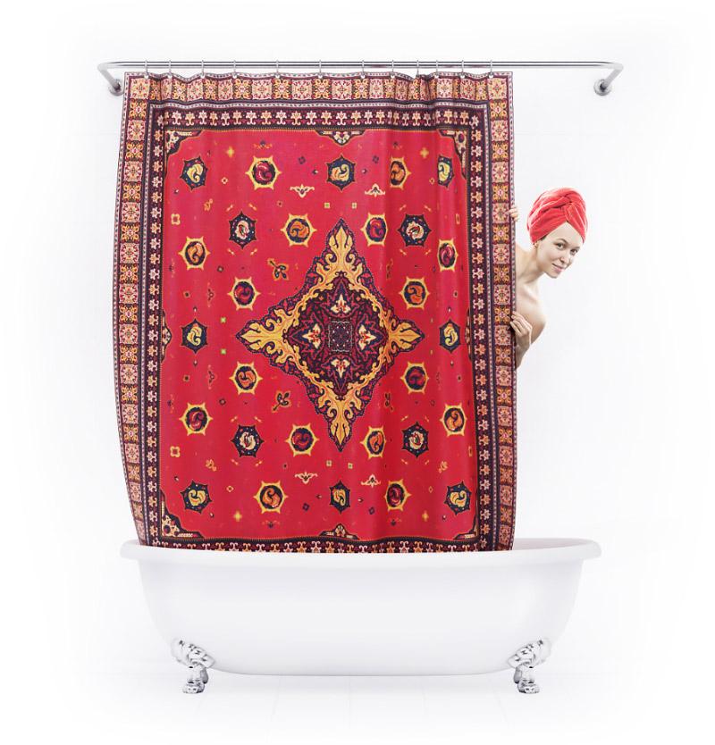 Шторкус для ванной «Ковер»