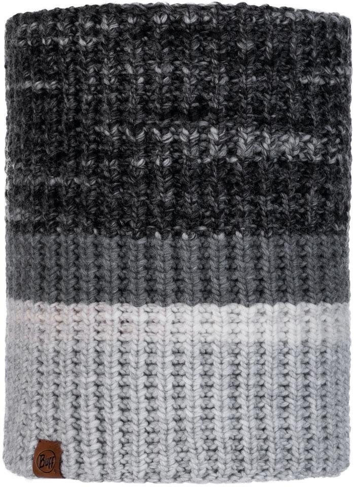 Шарф Buff Knitted&Polar Neckwarmer серый One Size